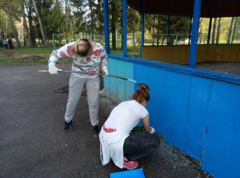 Помощь в благоустройстве детскому оздоровительному лагерю «Осташево»