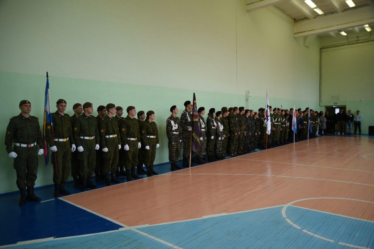 Районная военно-спортивная игра «Служу России»