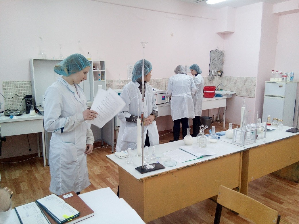 28 декабря 2017 года в группе 31 Т прошел квалификационный экзамен по ПМ 01 Приемка и первичная обработка молочного сырья