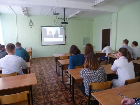 Вебконференция с  Ивановской ГСХА