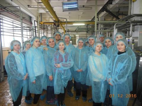 Урок - экскурсия на Рузский молочный завод