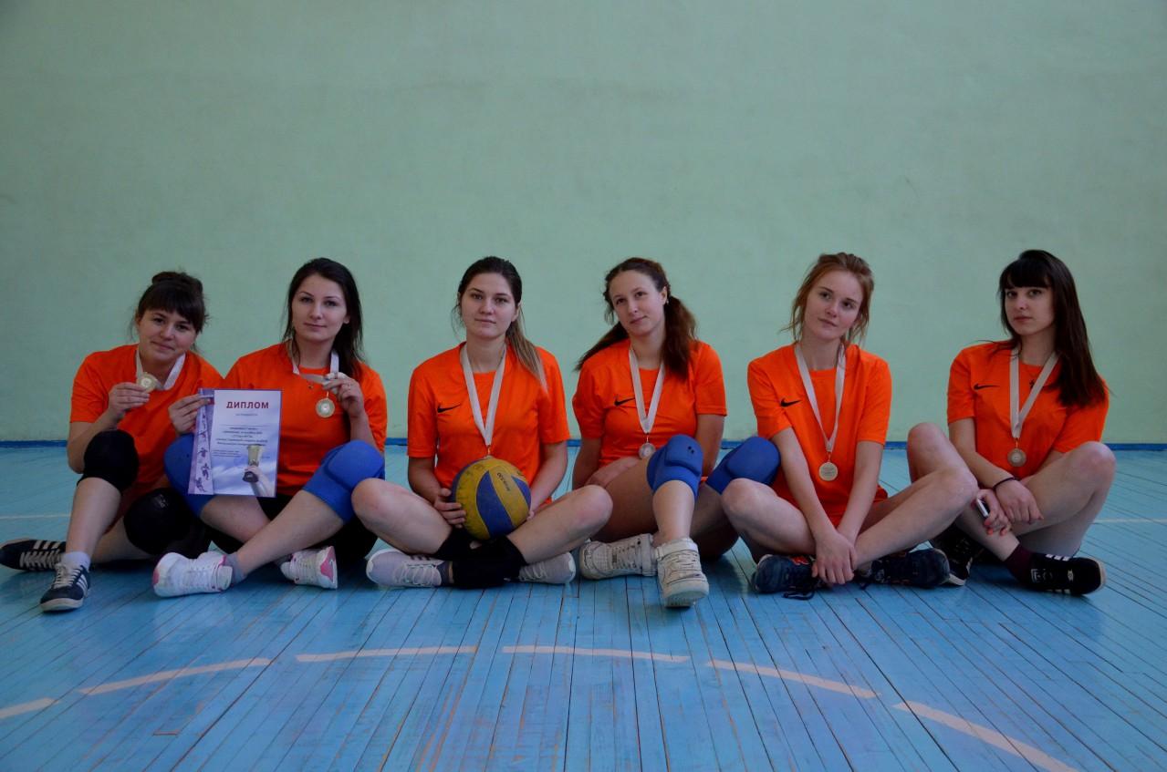 Соревнования по волейболу среди женских команд