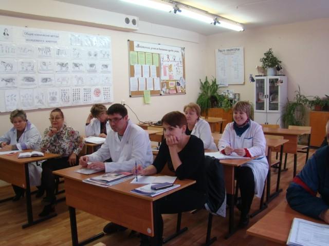 Заседание цикловой комиссии естественнонаучных дисциплин